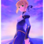 Du Saber, parce que forcément, c'est les 10 ans de Fate/ !